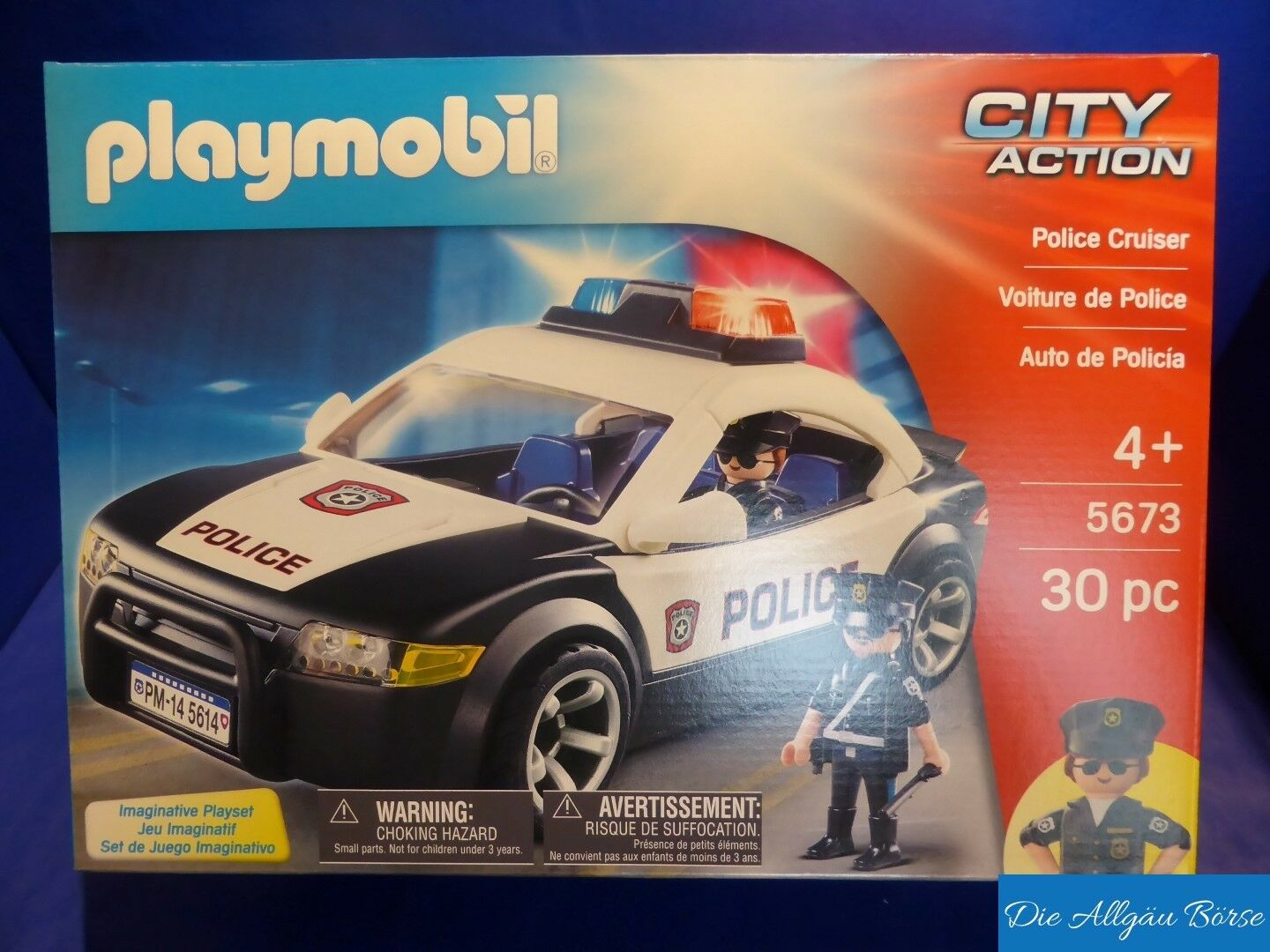 Playmobil 5673 Polizeiauto City Action Police Cruiser US Set Neu OVP