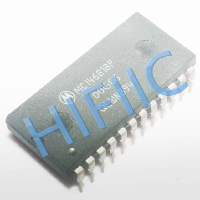 1PCS MC146818P REAL-TIME CLOCK PLUS RAM (RTC) DIP24