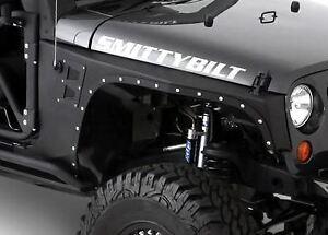 Image is loading Jeep-Wrangler-JK-XRC-Front-Fender-Armor-2007-