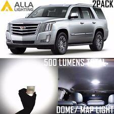 Alla Lighting Led Interior Overhead Dome Map Light Bulb Lamp For Cadillac White