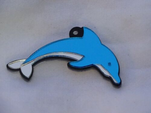 Dolphin Key Chain Custom Name Engraved Free keychain keyring Name Personalize