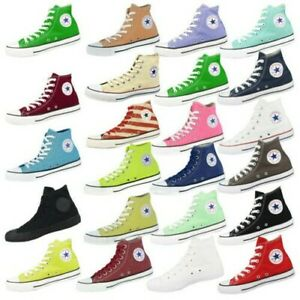 Details about Converse chuck taylor all star hi basic shoes classic sneakers various show original title