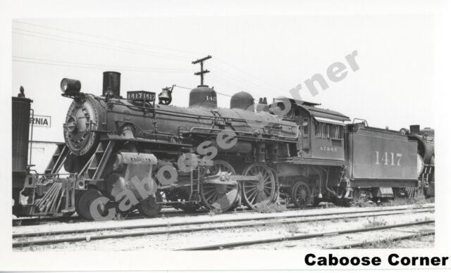 1943 RAILROAD TRAIN LOCOMOTIVE 8X10 PHOTO Atchison Topeka Santa Fe CHICAGO IL