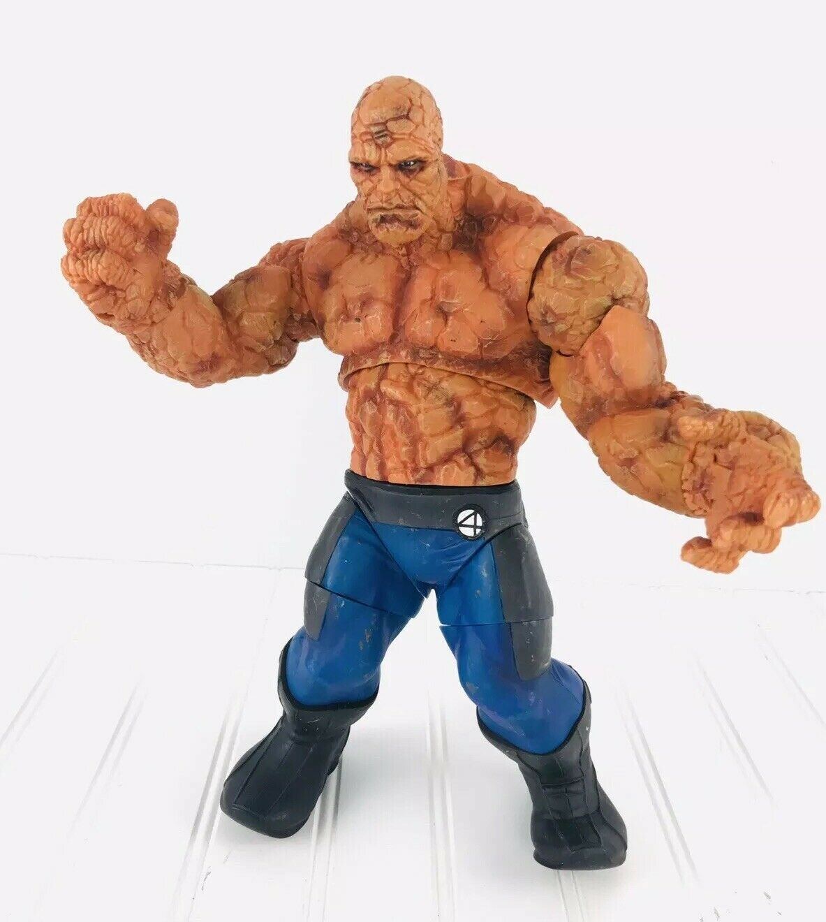"Fantastic Four THE THING - AVENGERS - MARVEL 12"" Posable Action Figure 2005"