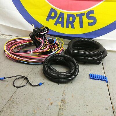 1967 1972 chevy truck wire harness fuse block upgrade. Black Bedroom Furniture Sets. Home Design Ideas