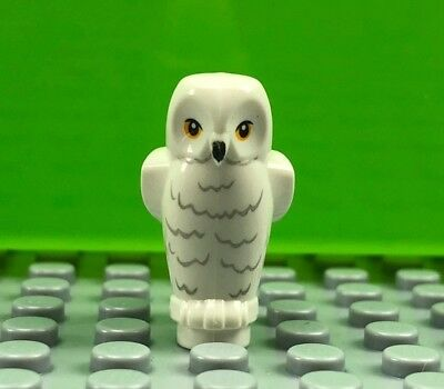 NEW Lego Animal Minifig Brown OWL Harry Potter Bird 4841 100/% Real