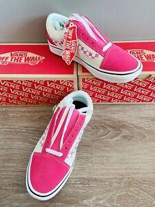 Vans Pink Trainer Size 3   eBay