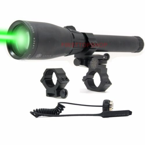 Long Distance Laser Sight Scope Designator ND3 X40 Green Flashlight Night Vision