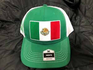 4371fed8ef8 NWT Men FIFA World Cup Soccer MEXICO National Team HAT Adjustable ...