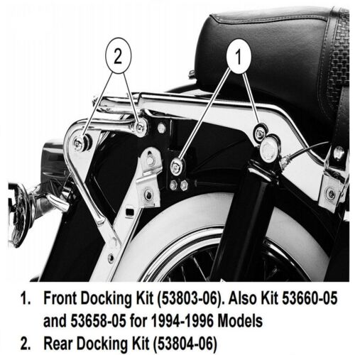 Fit For Harley Road King Electra Glide 97-08 Touring Front Docking Hardware Kit