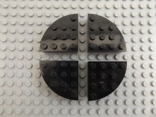 Circle Brick Round 4 x 4 Pieces 2577 Choose Your Colour Full 4 LEGO Quarter