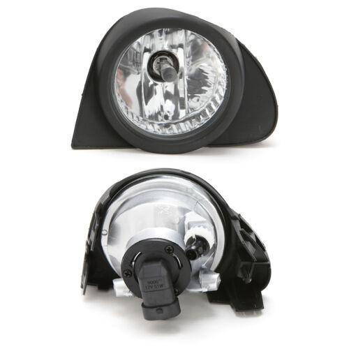 Clear Fog Lights Kit For 2003 2004 2005 Toyota Echo w//Bezel Switch Wiring Bulbs