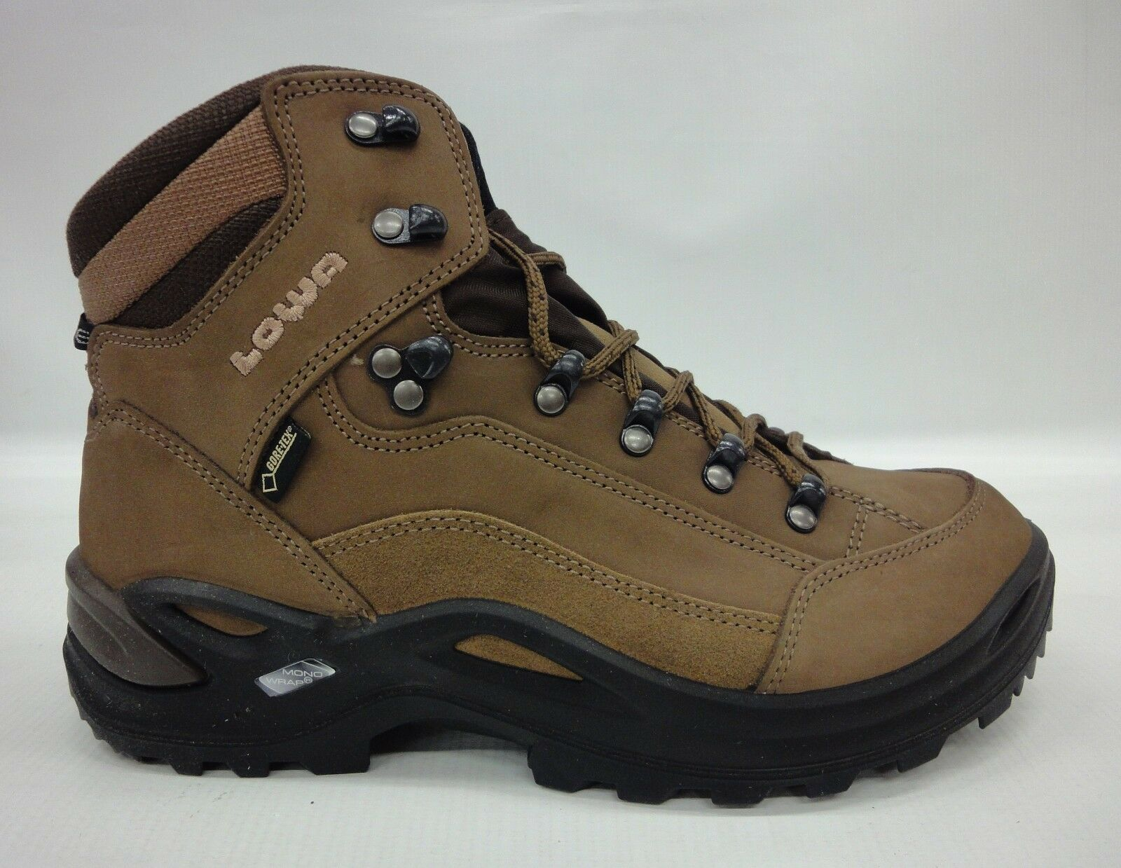 Lowa Womens Renegade GTX Mid Boots 320945 4655 Taupe Sepia Size 7