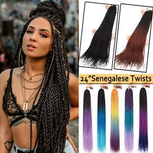 24 New Senegalese Twists 30 Strands Crochet Braids Senegal Hair