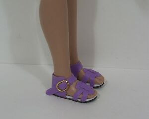 LAVENDER Strappy Sandals Doll Shoes For Robert Tonner 12 Marley Wentworth (Debs)