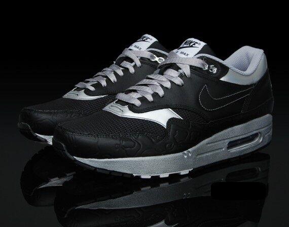 2018 Nike Air Max 1 ND SZ 9 Lunar Apollo Pack Black Silver Premium OG 308866-004