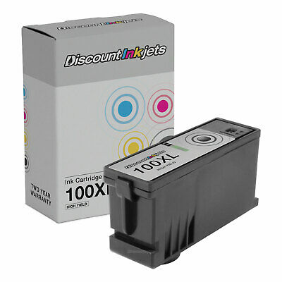 S405 S505 Works with: S305 S605 PSX Compatible Ink Cartridge Replacement for Lexmark 14N1068 100XL Black