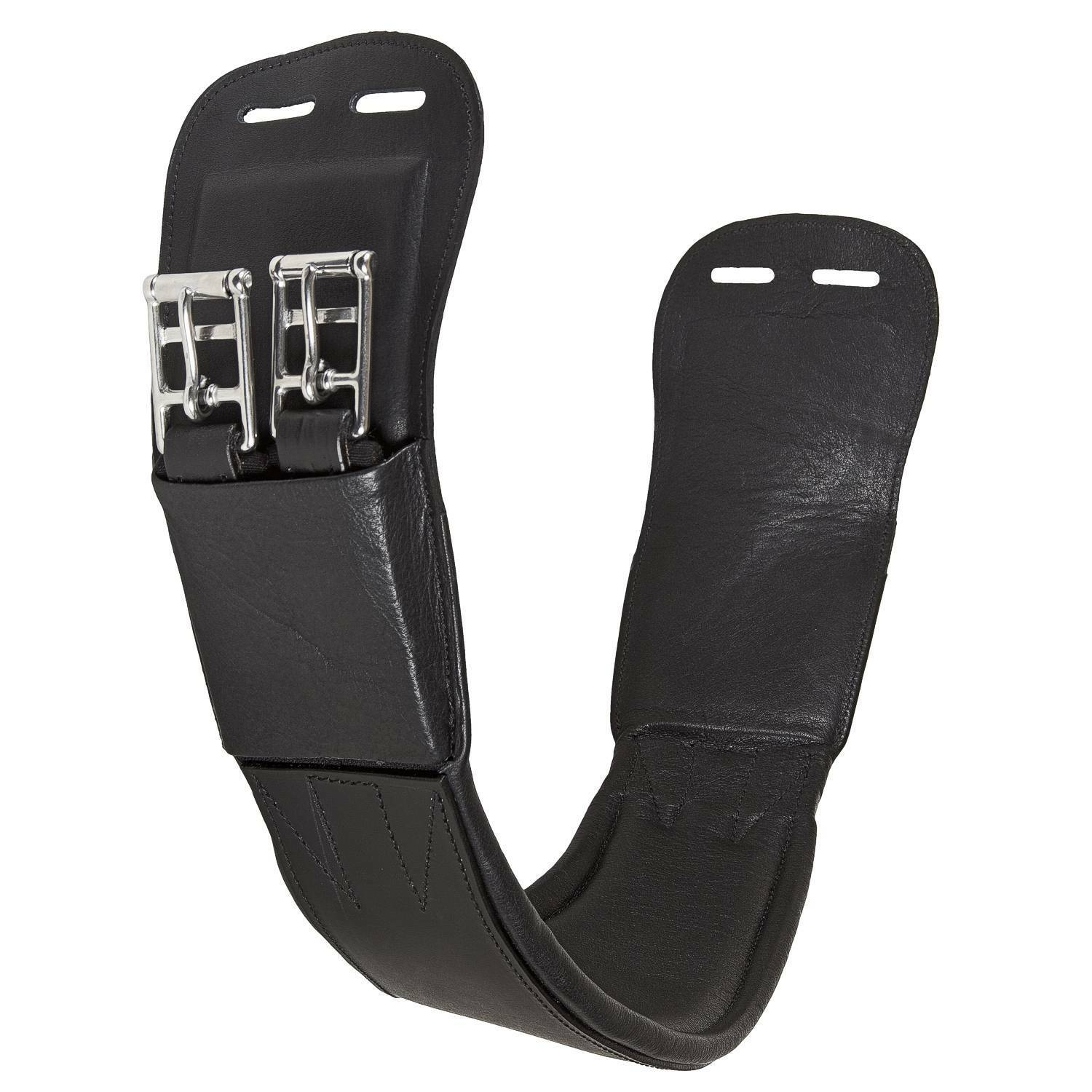 Harry Dabbs Platinum Jaguar Equestrian  Curved  Leather Dressage Girth  cheap sale outlet online