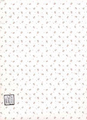 History Etc.-185D2 MiniGraphics wallpaper dollhouse miniature 1//12 scale 1 sheet
