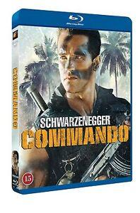 Commando Directors Cut Region Free Blu Ray