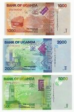 Shillings Uganda 5000 2013-2015 5,000 P-51 UNC
