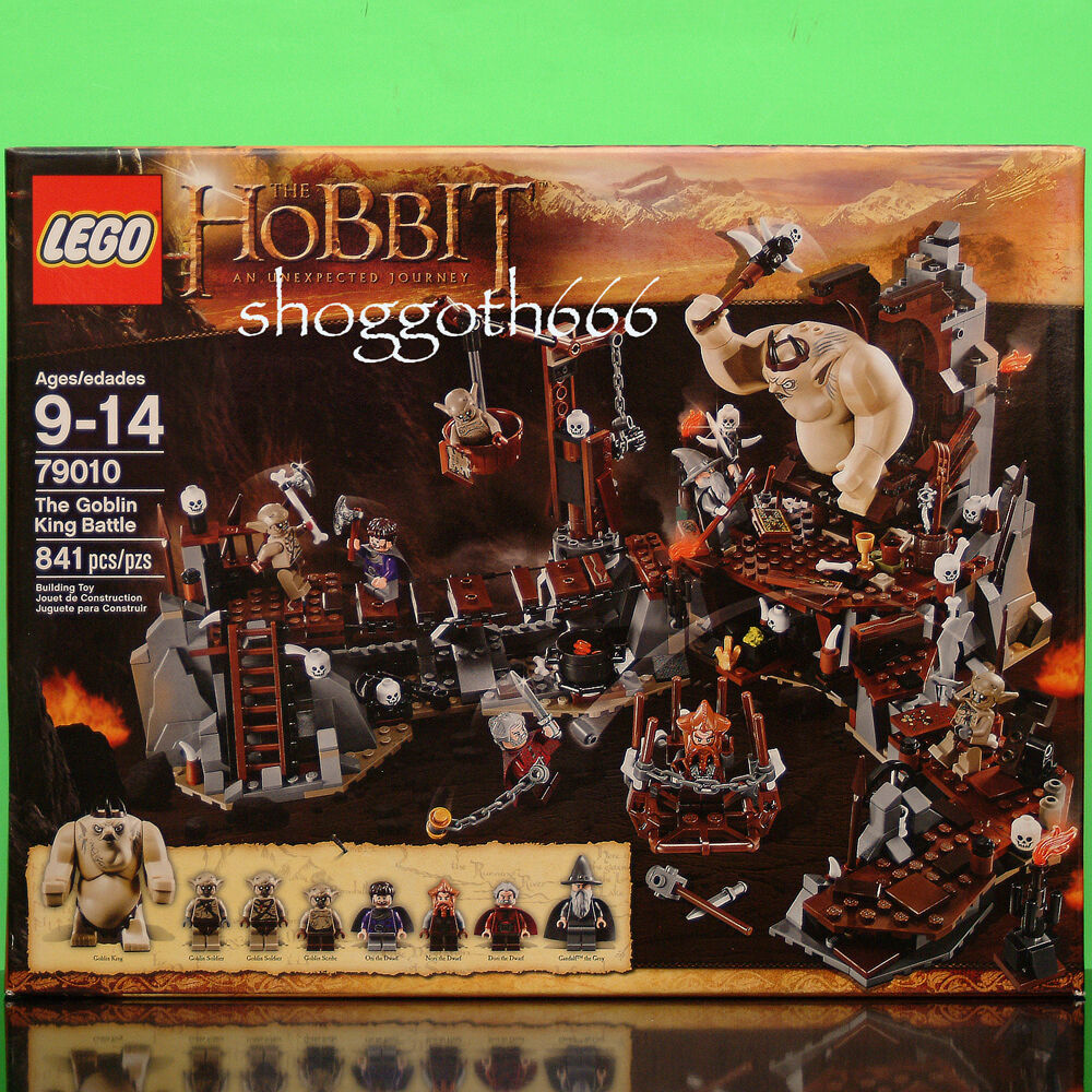 LEGO 79010 THE HOBBIT AN UNEXPECTED JOURNEY GOBLIN GOBLIN GOBLIN KING BATTLE  NEW SEALED SET 62f62e