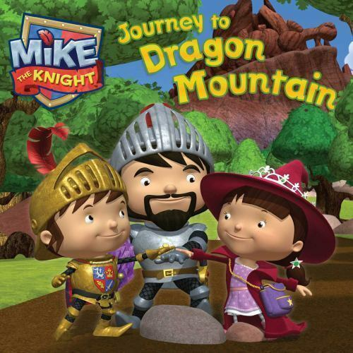 Journey to Dragon Mountain (Mike the Knight)-ExLibrary