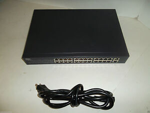 Dell-PowerConnect-2324-Gigabit-24-Port-Fast-Ethernet-Switch-1000Mbps-Wired-TJ657