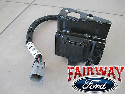 99 thru 01 f250 f350 super duty ford 4 & 7 pin trailer tow wiring harness  plug | ebay  ebay