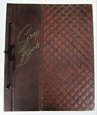 Vtg Scrapbook Memory Book 1950 NY Photo Album Black & White Pictures Americana