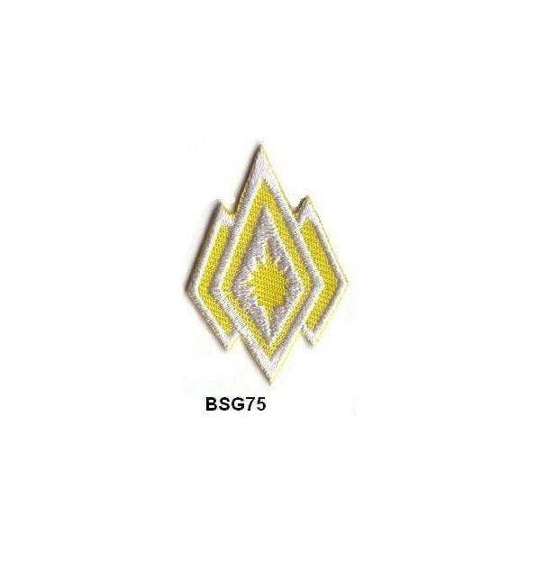BattleStar Galactica COMMANDER Insignia Patch Set - 2 x BSG75