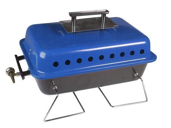 Barbacoa BBQ Gas de Mesa Portátil Para Camping Bar-B-Q Cochetucho Bruce Kampa