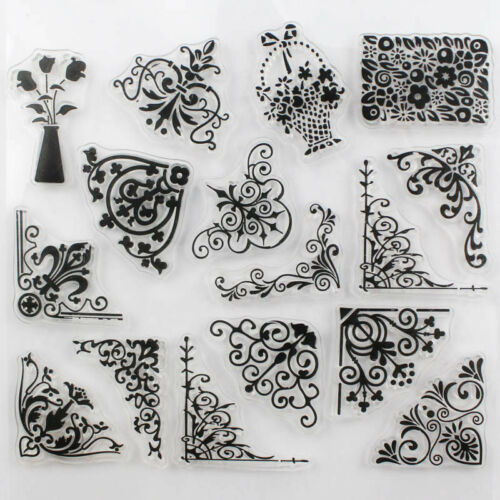 1 pcs Transparent Stamp Flower Vine DIY Scrapbooking//Card Making//Christmas Decor