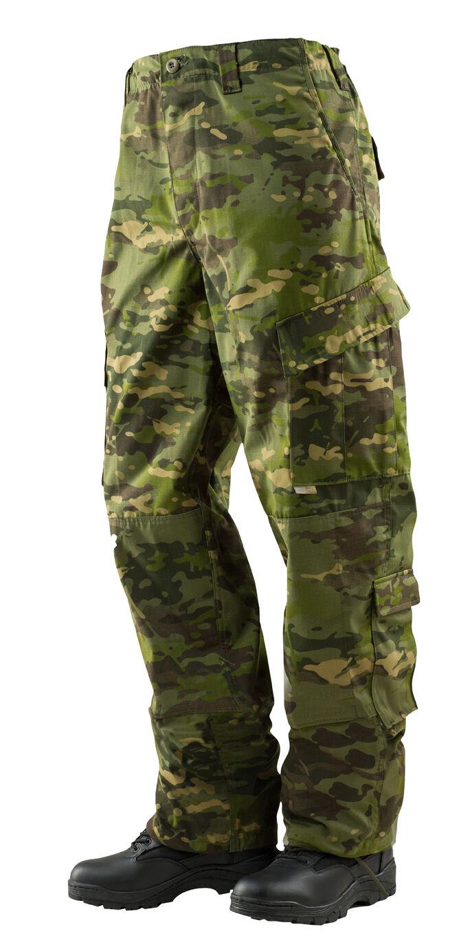 MultiCam Tropic Camo ACU Tactical Response Uniform Pants by TRU-SPEC 1323