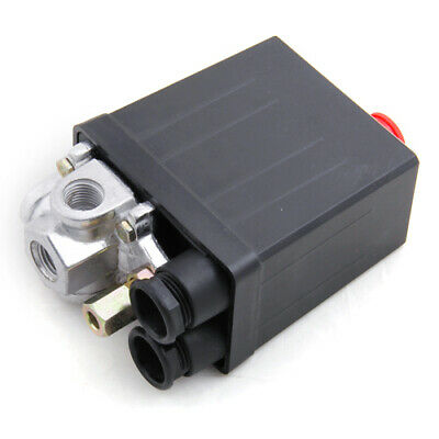 Haobase Compresseur d/'air Pressostat Vanne de contrôle 90-120 PSI 240V