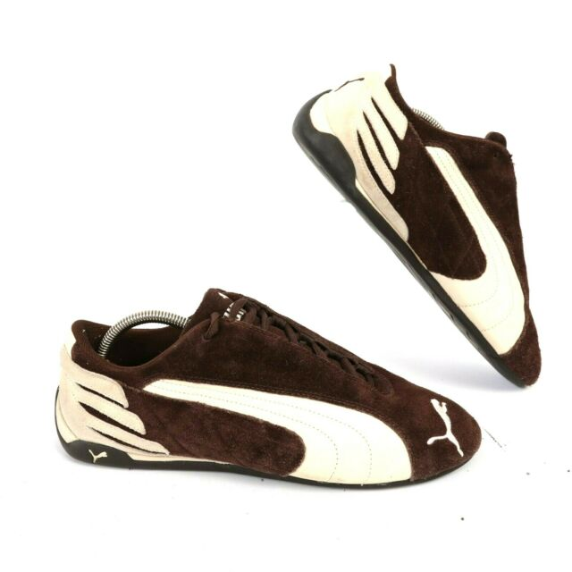 294a7e40 Puma Mens Brown/Cream Suede Driving Shoes Athletic Fashion Sneakers Men's  US 11