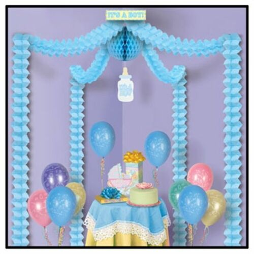 Baby Boy Blue  Decorating Kit for Baby Shower