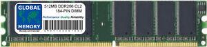 512MB-DDR-266MHz-PC2100-184-PIN-DIMM-MEMORY-RAM-FOR-DESKTOPS-PCs-MOTHERBOARDS