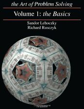 The Art of Problem Solving, Volume 1 : The Basics by Sandor Lehoczky and Richard Rusczyk (2006, Paperback)