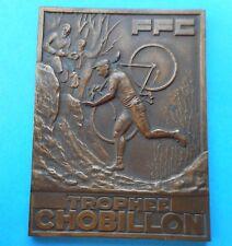 Art Déco - Vélocipède - Cyclisme - Trophée CHOBILLON - par Cam - 1960