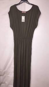 8fce88bfc58a KRISP Womens Short Sleeve Long Maxi Dress Loose Elastic Plus Size ...