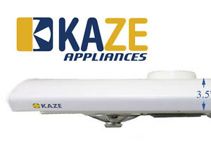 Image Is Loading KAZE K202 30 Inch White Slim Under Cabinet