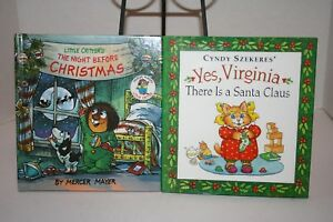 image is loading 2 books yes virginia there is a santa - Books About Santa Claus 2