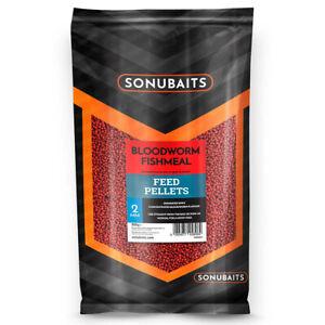 Sonubaits Bloodworm Fishmeal - Method Feeder Futter Pellets 2mm