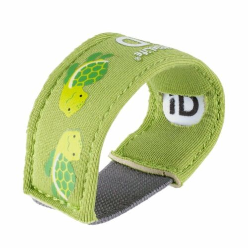 Littlelife Child ID Bracelet Safety wristband with ID Slips Turtle