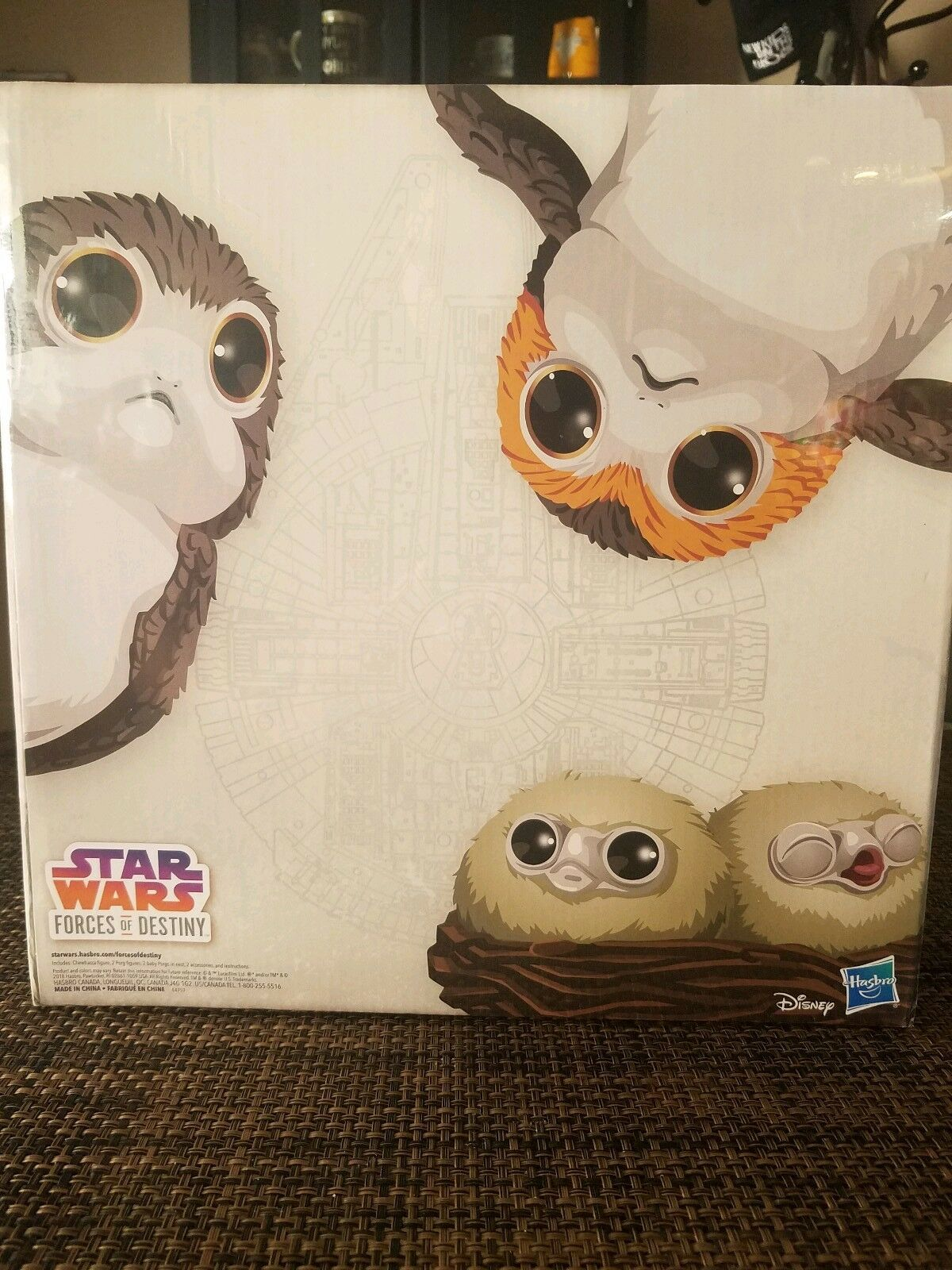 Star Wars Forces of Destiny Chewbacca and Porgs Convention Exclusive