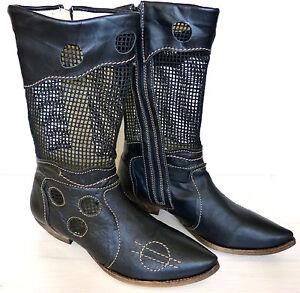 Euro Boots Gr39 Rovers Schwarz 90 Stiefel Neu 209 Zu Leder Bisher Details Damen Highheel SUpqzMV