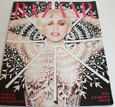 Harper's Bazaar Magazine LADY GAGA March 2014 The Fashion Issue Spring Awakening