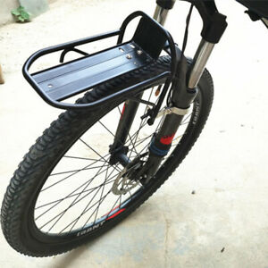 Bike-Front-Shelf-Rack-Cyclisme-velo-liberation-rapide-porte-bagages-Transporteur-Support