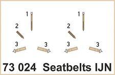 eduard 73024 1/72 Aircraft- Seatbelts IJN Fabric-Type (Painted)